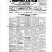 Le Journal de l'arrondissement de Valognes, numéro du 30 novembre 1935
