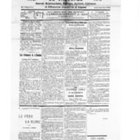 Le Journal de l'arrondissement de Valognes, numéro du 24 mars 1928