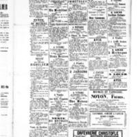Le Journal de l'arrondissement de Valognes, supplément au numéro du 12 novembre 1886
