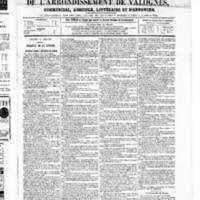 Le Journal de l'arrondissement de Valognes, numéro du 14 juin 1867