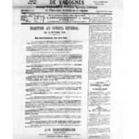 Le Journal de l'arrondissement de Valognes, numéro du 06 octobre 1928