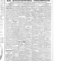 Le Bonhomme normand, numéro du 18 septembre 1914