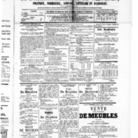 Le Journal de l'arrondissement de Valognes, numéro du 05 septembre 1879