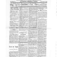Le Journal de l'arrondissement de Valognes, numéro du 19 mars 1932