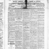 Le Journal de l'arrondissement de Valognes, numéro du 07 novembre 1890