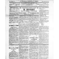 Le Journal de l'arrondissement de Valognes, numéro du 01 mai 1926