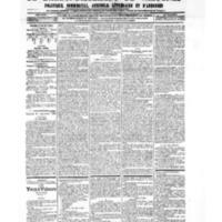 Le Journal de l'arrondissement de Valognes, numéro du 22 septembre 1905