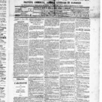 Le Journal de l'arrondissement de Valognes, numéro du 01 mars 1889