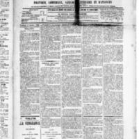 Le Journal de l'arrondissement de Valognes, numéro du 17 octobre 1890