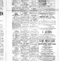 Le Journal de l'arrondissement de Valognes, supplément au numéro du 27 mars 1885
