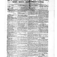 Le Journal de l'arrondissement de Valognes, numéro du 02 avril 1880