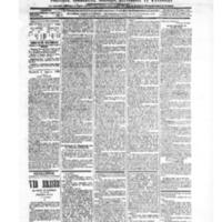 Le Journal de l'arrondissement de Valognes, numéro du 02 janvier 1903