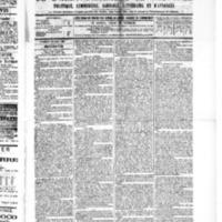 Le Journal de l'arrondissement de Valognes, numéro du 30 avril 1886