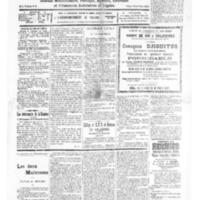 Le Journal de l'arrondissement de Valognes, numéro du 27 août 1932