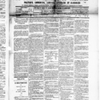 Le Journal de l'arrondissement de Valognes, numéro du 01 novembre 1889
