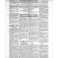 Le Journal de l'arrondissement de Valognes, numéro du 08 novembre 1924