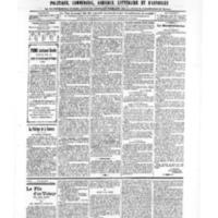 Le Journal de l'arrondissement de Valognes, numéro du 14 décembre 1906
