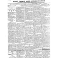 Le Journal de l'arrondissement de Valognes, numéro du 13 avril 1906