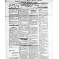 Le Journal de l'arrondissement de Valognes, numéro du 06 septembre 1928