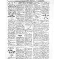 Le Journal de l'arrondissement de Valognes, numéro du 16 juillet 1909