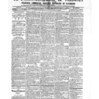 Le Journal de l'arrondissement de Valognes, numéro du 30 mars 1906