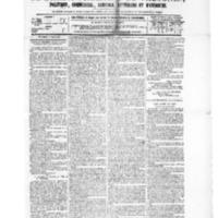 Le Journal de l'arrondissement de Valognes, numéro du 01 mai 1885