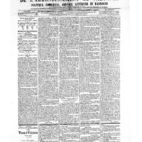 Le Journal de l'arrondissement de Valognes, numéro du 23 mars 1906