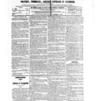 Le Journal de l'arrondissement de Valognes, numéro du 13 octobre 1882