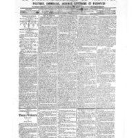 Le Journal de l'arrondissement de Valognes, numéro du 20 octobre 1905
