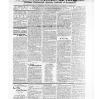 Le Journal de l'arrondissement de Valognes, numéro du 11 janvier 1907