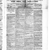 Le Journal de l'arrondissement de Valognes, numéro du 18 juillet 1879