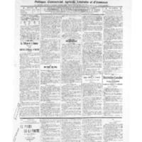 Le Journal de l'arrondissement de Valognes, numéro du 21 mai 1909