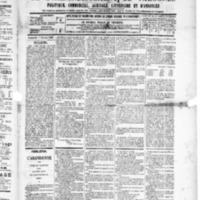 Le Journal de l'arrondissement de Valognes, numéro du 07 février 1890