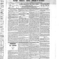 Le Journal de l'arrondissement de Valognes, numéro du 13 octobre 1875