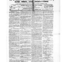 Le Journal de l'arrondissement de Valognes, numéro du 26 juin 1885