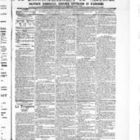 Le Journal de l'arrondissement de Valognes, numéro du 10 février 1905