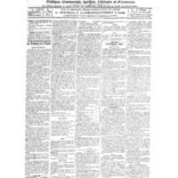 Le Journal de l'arrondissement de Valognes, numéro du 02 avril 1921