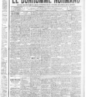 Le Bonhomme normand, numéro du 22 mai 1914
