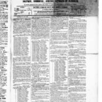 Le Journal de l'arrondissement de Valognes, numéro du 28 août 1885