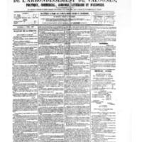 Le Journal de l'arrondissement de Valognes, numéro du 08 avril 1881
