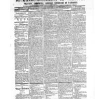 Le Journal de l'arrondissement de Valognes, numéro du 03 novembre 1905