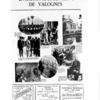 Le Journal de l'arrondissement de Valognes, supplément au numéro du 24 octobre 1931