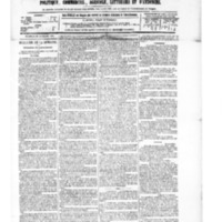 Le Journal de l'arrondissement de Valognes, numéro du 20 novembre 1885