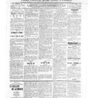 Le Journal de l'arrondissement de Valognes, numéro du 08 octobre 1909