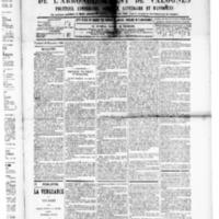 Le Journal de l'arrondissement de Valognes, numéro du 26 décembre 1890