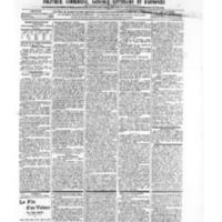 Le Journal de l'arrondissement de Valognes, numéro du 14 septembre 1906