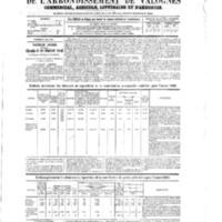 Le Journal de l'arrondissement de Valognes, numéro du 09 mai 1873
