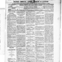 Le Journal de l'arrondissement de Valognes, numéro du 04 avril 1890