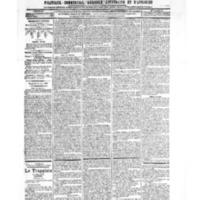 Le Journal de l'arrondissement de Valognes, numéro du 16 juin 1905