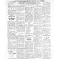 Le Journal de l'arrondissement de Valognes, numéro du 26 février 1909
